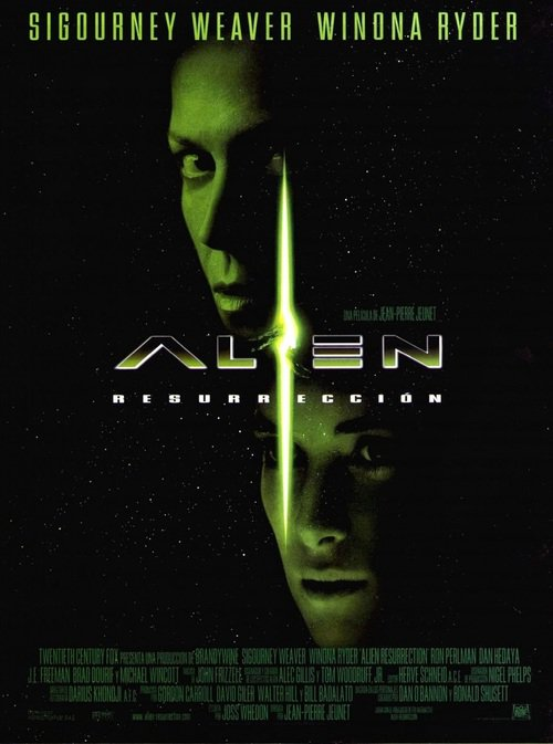 """Poster for the movie """"Alien: Resurrection Special Edition"""""""