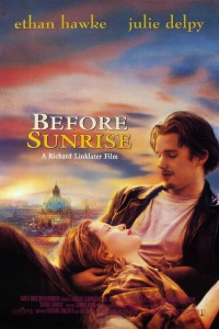 "Poster for the movie ""Before Sunrise"""