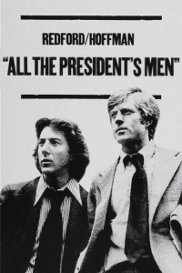 "Poster for the movie ""All the President's Men"""
