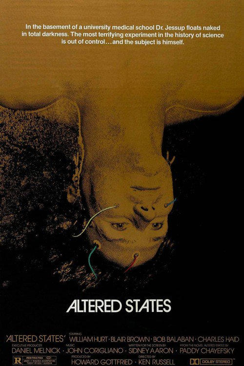 """Poster for the movie """"Altered States"""""""