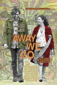 "Poster for the movie ""Away We Go"""