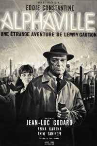 "Poster for the movie ""Alphaville"""