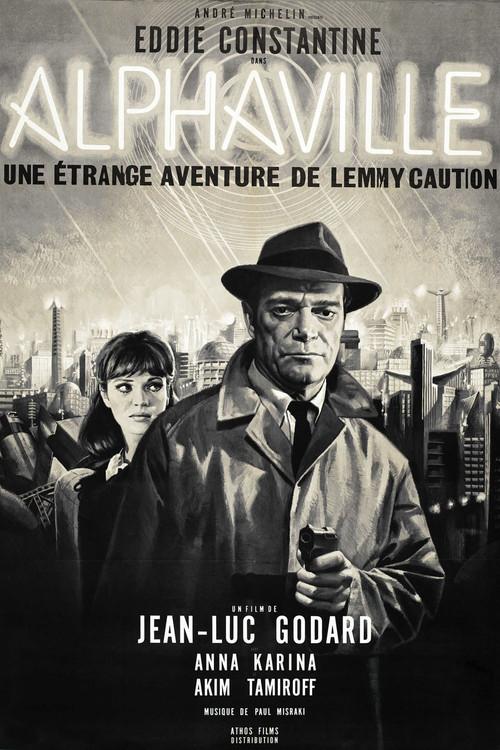 """Poster for the movie """"Alphaville"""""""