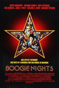 "Poster for the movie ""Boogie Nights"""