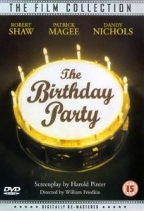 "Poster for the movie ""The Birthday Party"""