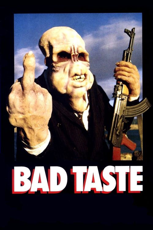 "Poster for the movie ""Bad Taste"""
