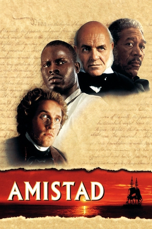 "Poster for the movie ""Amistad"""