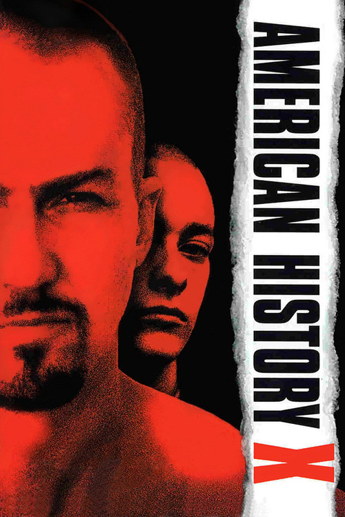 """Poster for the movie """"American History X"""""""