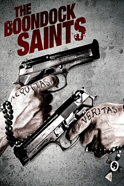 "Poster for the movie ""The Boondock Saints"""