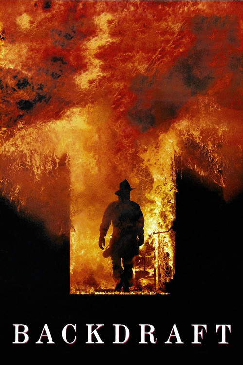 """Poster for the movie """"Backdraft"""""""