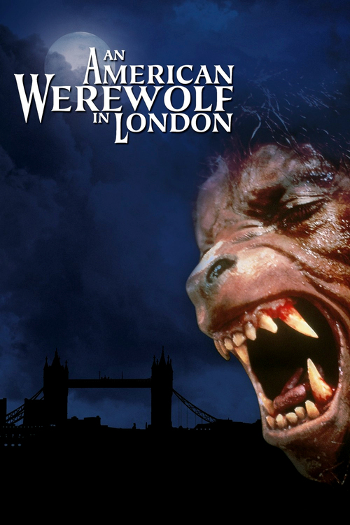 "Poster for the movie ""An American Werewolf in London"""