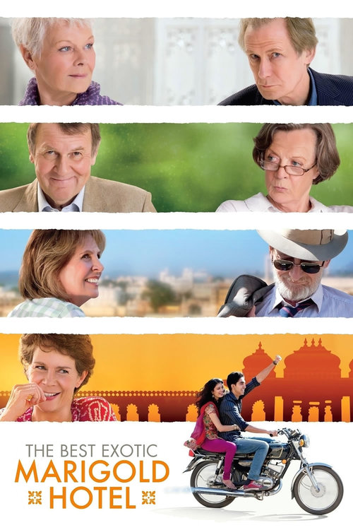 "Poster for the movie ""The Best Exotic Marigold Hotel"""