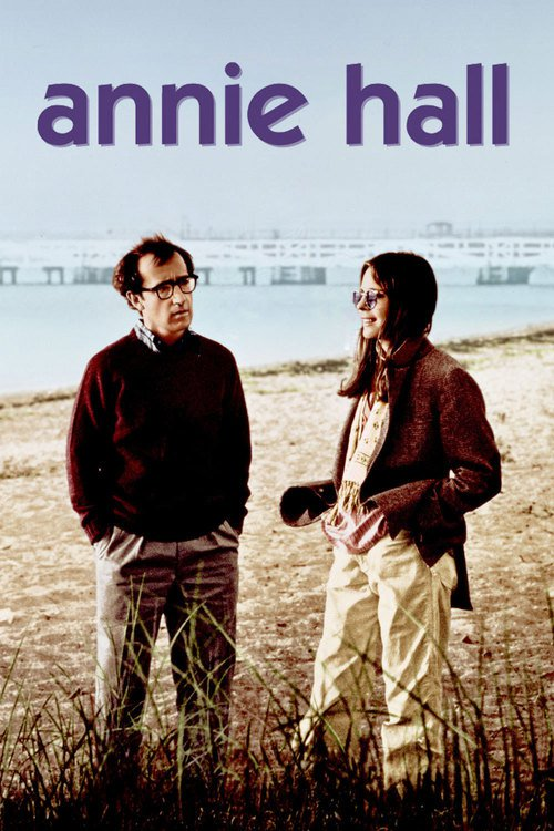 "Poster for the movie ""Annie Hall"""