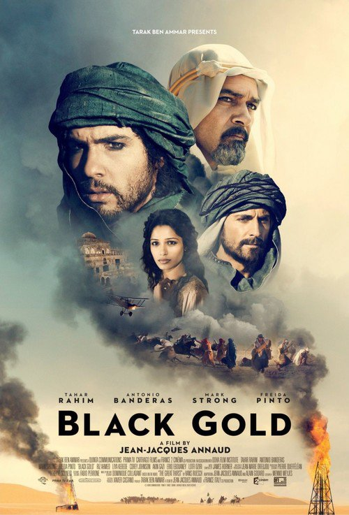 "Poster for the movie ""Black Gold"""