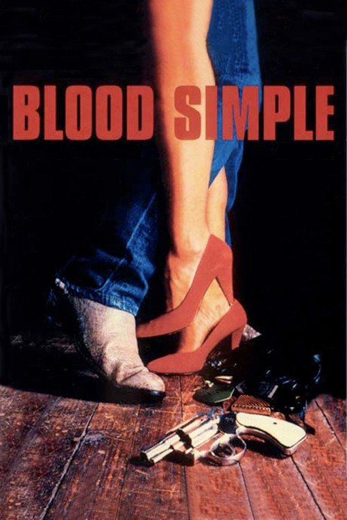 """Poster for the movie """"Blood Simple"""""""