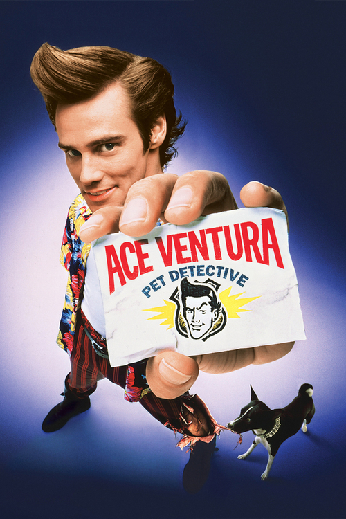 "Poster for the movie ""Ace Ventura: Pet Detective"""