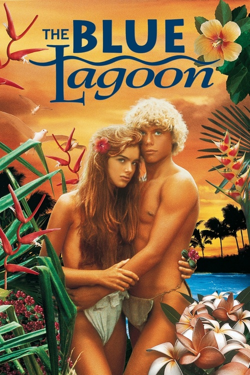 "Poster for the movie ""The Blue Lagoon"""