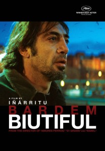 "Poster for the movie ""Biutiful"""