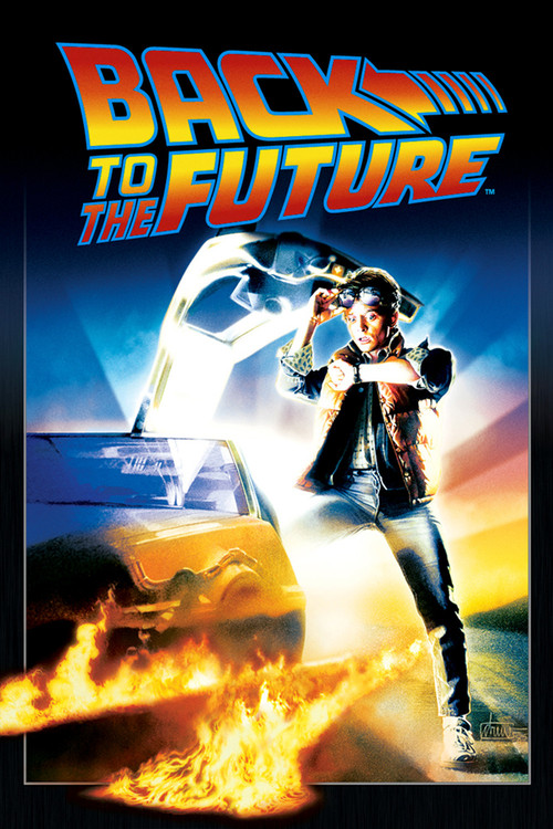 "Poster for the movie ""Back to the Future"""