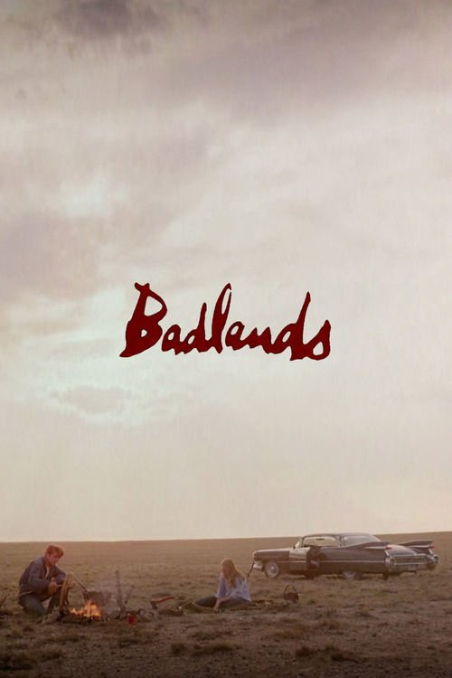 "Poster for the movie ""Badlands"""