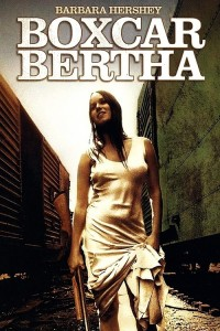 "Poster for the movie ""Boxcar Bertha"""