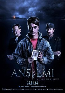 "Poster for the movie ""Anselm, the Young Werewolf"""