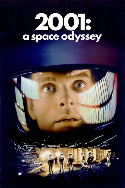 "Poster for the movie ""2001: A Space Odyssey"""