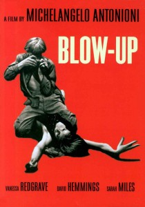 "Poster for the movie ""Blow-Up"""