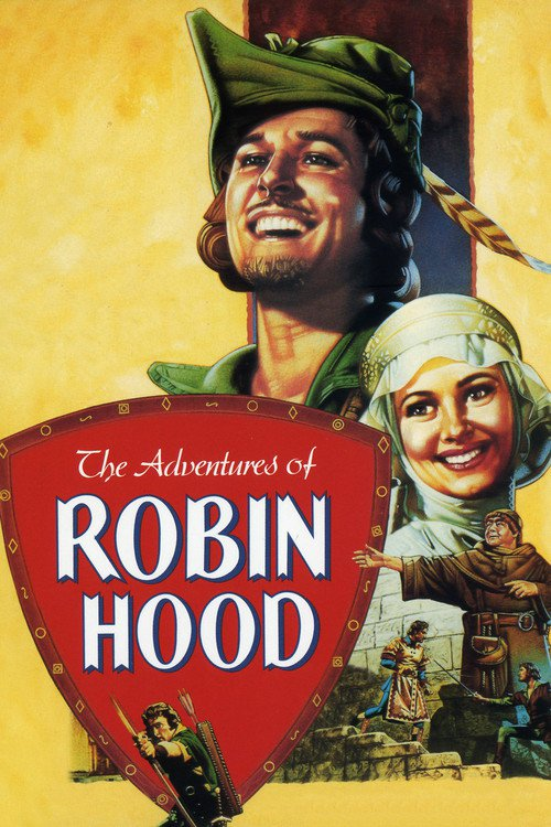 """Poster for the movie """"The Adventures of Robin Hood"""""""