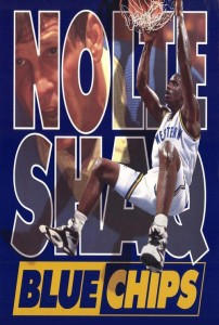 "Poster for the movie ""Blue Chips"""