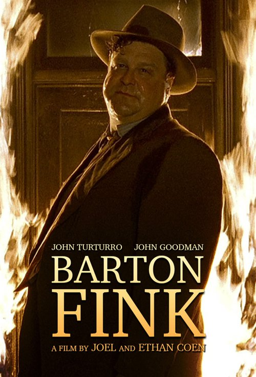 "Poster for the movie ""Barton Fink"""