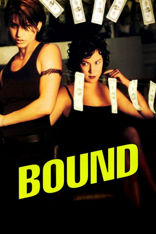 "Poster for the movie ""Bound"""
