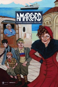"Poster for the movie ""Amarcord"""