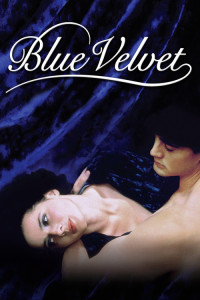 "Poster for the movie ""Blue Velvet"""