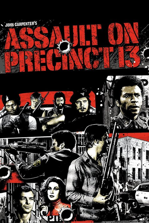 "Poster for the movie ""Assault on Precinct 13"""