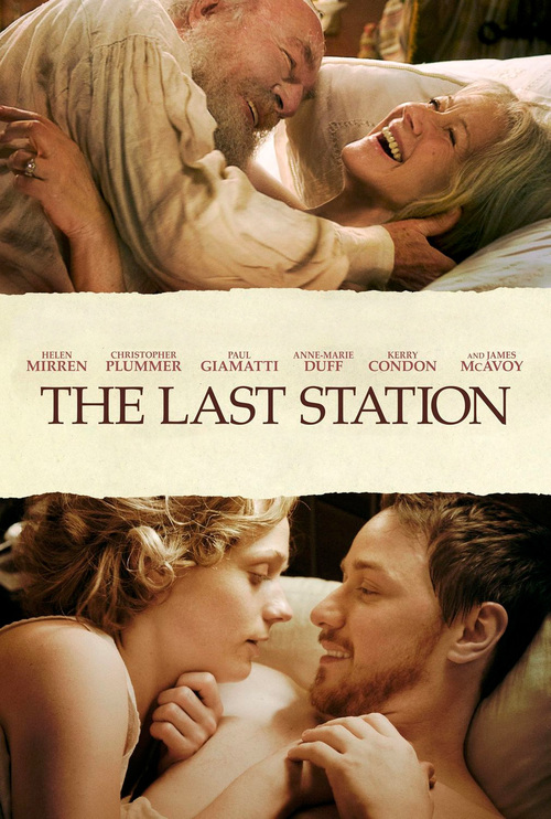 """Poster for the movie """"The Last Station"""""""