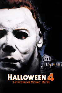 "Poster for the movie ""Halloween 4: The Return of Michael Myers"""
