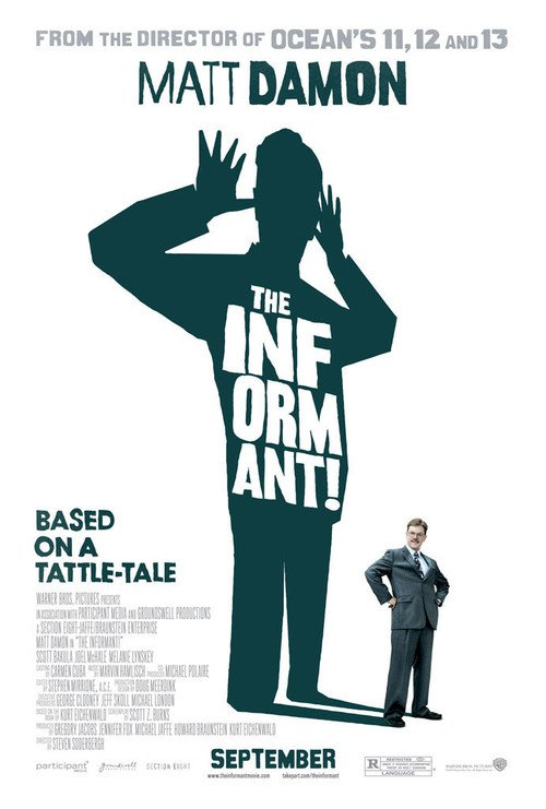 """Poster for the movie """"The Informant!"""""""