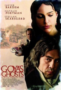 "Poster for the movie ""Goya's Ghosts"""