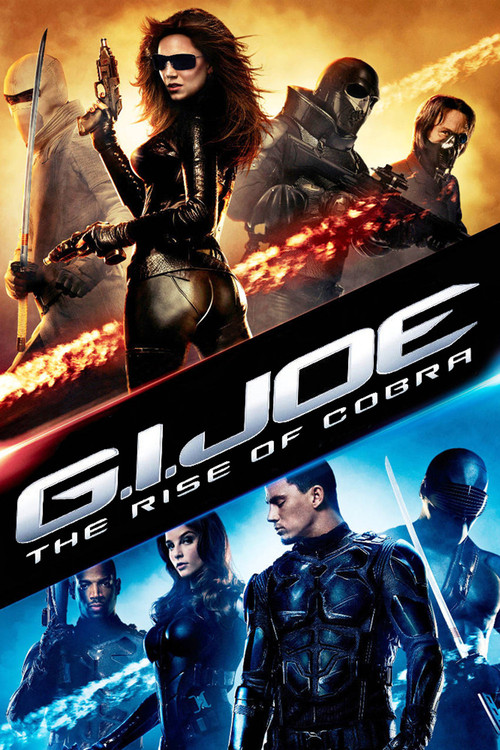 """Poster for the movie """"G.I. Joe: The Rise of Cobra"""""""