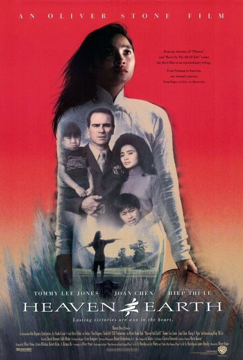 "Poster for the movie ""Heaven & Earth"""
