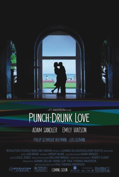 "Poster for the movie ""Punch-Drunk Love"""