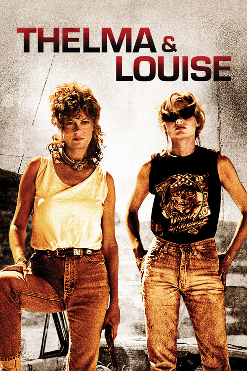 "Poster for the movie ""Thelma & Louise"""