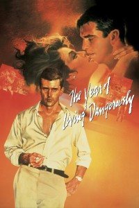 """Poster for the movie """"The Year of Living Dangerously"""""""