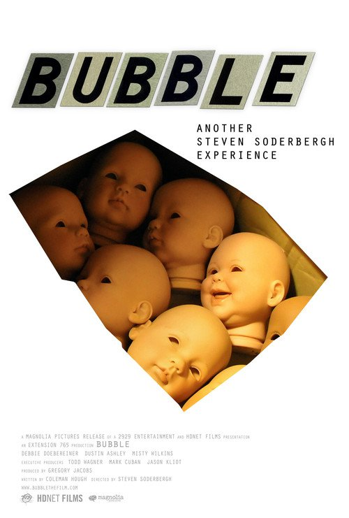 "Poster for the movie ""Bubble"""