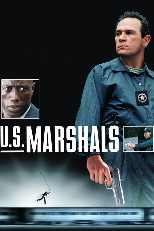 "Poster for the movie ""U.S. Marshals"""