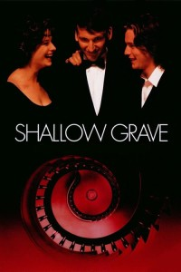 """Poster for the movie """"Shallow Grave"""""""