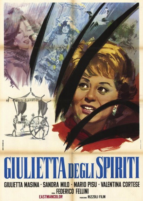 """Poster for the movie """"Juliet of the Spirits"""""""