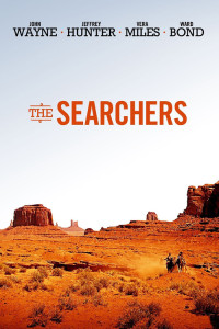 "Poster for the movie ""The Searchers"""