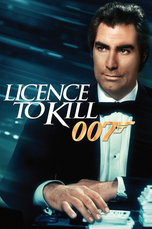 """Poster for the movie """"Licence to Kill"""""""